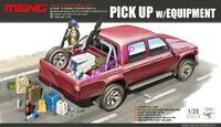 Meng Model 1/35 VS-002 Pickup w/Equipment Brand Hot