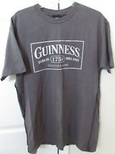 Guinness Stout Beer 1759 Licensed Gray T-Shirt Large EUC