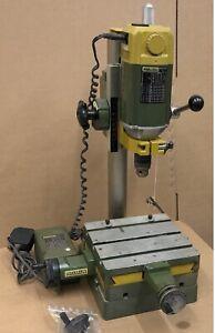 Proxxon BFW 36 Bench Drill Mill Precision with Compound Table