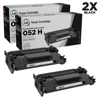 LD Compatible Replacement for Canon 052H High Yield Black Toner Cartridges 2PK