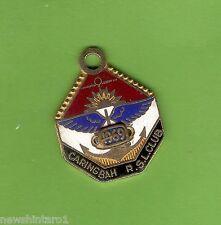 #D142.  1969  CARINGBAH  RSL  CLUB  MEMBER  BADGE #857