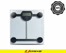 180KG/396LB Digital LCD Glass Electronic Weight Body Bathroom Health Scale