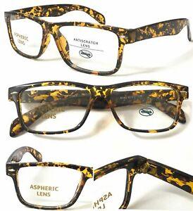 Unisex Popular Plastic Frame Tortoiseshell Reading Glasses /Easy To Read ^^