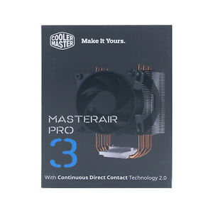Cooler Master Masterair Pro 3 CPU Air Cooler for Intel and AMD