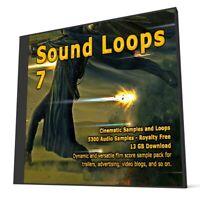 Cinematic Collection Sound Loops 7 Logic Pro FL Studio Ableton Cubase WAV Loops