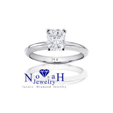 0.40 ct Radiant Cut Diamond Engagement Ring F/vs2 14K Gold With Certificate