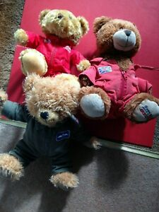 3 RAF Royal Air Force Teddy Bears 2 Red Arrows 1 Other 1 Signed Red Aroows