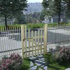 vidaXL Legno di Pino Impregnato Cancello in Steccato 100x150 cm Porta Recinto