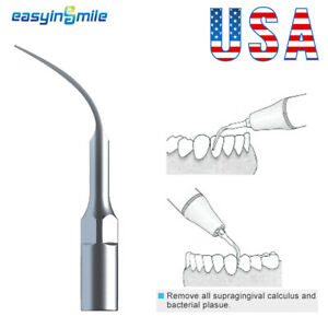 G4 Dental Ultrasonic Scaler Tip Scaling Tip Fit EMS/Woodpecker For Endo Cleaning
