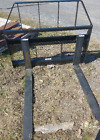 New COMPACT TRACTOR  SMALL SKID STEER LOADER 42' PALLET FORKS subcompact kubota