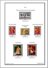 Album timbres Polynésie jusqu'à 2019 à imprimer