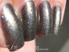 NEW! OPI NAIL POLISH Nail Lacquer in NUMBER ONE NEMESIS ~ Graphite foil