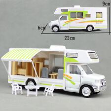 RV Motorhome Trailer Camper Trip House Car Sound Light Model Toy & Gift