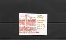 Gb 1986 Roman Britain #2 Folded 50p Booklet Fb37
