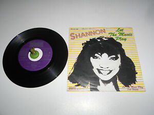 Shannon - Let the Music Play (1983) Vinyl 7` inch Single Vg ++