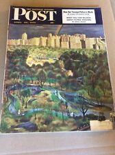 APRIL 30 1949 SATURDAY EVENING POST vintage magazine Walk In The Park