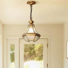 Bar Lamp Kitchen Pendant Light Room LED Ceiling Light Copper Chandelier Lighting