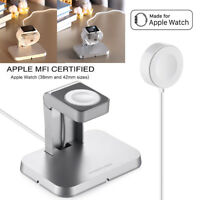 Magnetic Charging Cable(1m) & Charger Stand for Apple Watch iWatch 38mm & 42mm