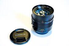 Panasonic Leica DG Summilux 42,5mm 1.2 ASPH, schwarz F1,2 42,5 mm