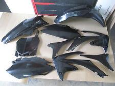 RACE TECH HONDA PLASTIC KIT 2010 2011 2012 CRF250R BLACK FENDER SHROUDS PLATES
