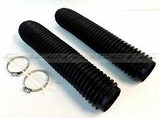 Suzuki RM125 RM250 83-88, DR250 DR350 DR650 Fork Gaiters Fork Boots 43mm x 380mm
