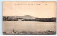 *Mt. Monadnock from Stone Pond Keene New Hampshire NH Postcard B38
