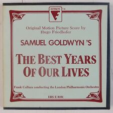 The Best Years Of Our Lives: Movie Score, Goldwyn, Friedhofer Reel To Reel Tape