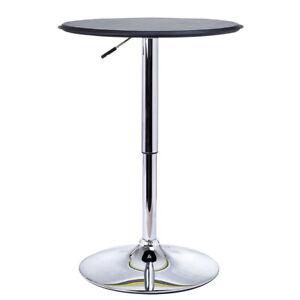 Tall Bar Table Breakfast Kitchen Dining Room Bistro Patio Modern Furniture Round