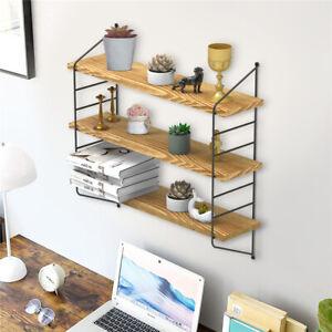 3 Tier Large 60cm Display Wall Shelf Industrial Height Adjustable Shelving Rack