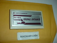 Vintage Commodore VIC-1910 Radar Ratrace Game Cartridge for VIC-20