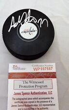 Adam Oates SIGNED / AUTOGRAPH Washington Capitals Hockey Puck JSA COA