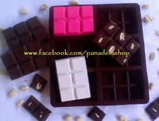 Regular Chocolate Bar Clay Jelly Soap Silicone Mold Molder Food Grade