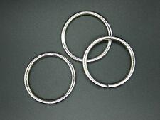 4 O-Ringe, 40mm, Taschen Zubehör, D-Ringe, Metallringe, Schnalle