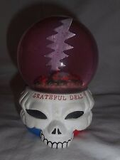 Grateful Dead Waterball Snow Globe STEAL YOUR FACE paper weight