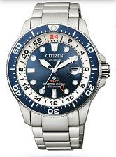 Citizen Promaster Diver's Eco Drive Super Titanio 43,5 mm Cassa in Titanio Argento, Bracciale in Titanio Argento Orologio da Uomo - (BJ7111-86l-10)