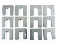 """Jeep Body & Fender Alignment Shims- 1/16"""" & 1/8"""" Thick- 12 shims (6 ea)- #397"""
