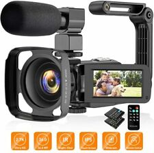 Video Camera Camcorder 2.7K Vlogging Camera For YouTube Ultra HD 24FPS 36 MP IR