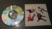 RAZORBACKS LIVE A LITTLE 1989 CD exc! RARE CRC CANADA ROCKABILLY