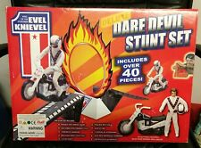 Vintage Evel Knievel Dare Devil Stunt Set, 2006 MINT IN BOX!