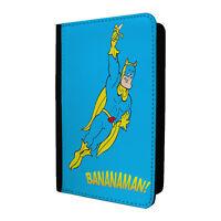 Retro Bananaman Funda de Pasaporte Cubierta Caja - ST-T990