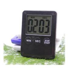 Digital KITCHEN TIMER Countdown Magnetic Fridge Egg Cooking LCD Timing Clock Sp
