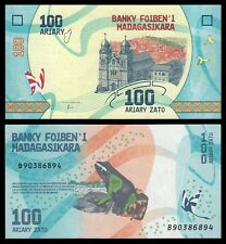 Madagascar 100 Ariary ND 2017 Pick 97   SC = UNC