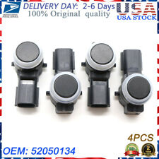 4X 52050134 For GM Buick Cadillac Black New Parking Sensor Bumper Aid Backup PDC