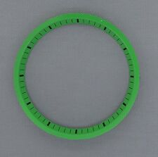 Jade Green SEIKO 7002 Chapter Ring (minute track- mod parts) Brand New.