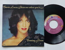 CARRIE LUCAS Show me where you're coming from SOLAR 13175 FRANCE  BOOGIE funk