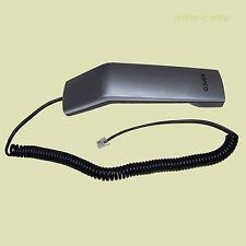 AGFEO T10 / T11 / T15 / ST15 Hörer silber mit Hörerspiralkabel Austausch Ersatz
