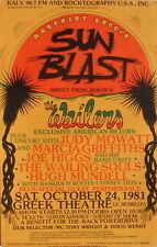 BERKELEY REGGAE SUNBLAST The Wailers, Judy Mowatt, Marcia Griffiths, Joe Higgs..