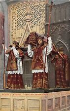Spain postcard Sevilla Catedral Tumba de Cristobal Colon