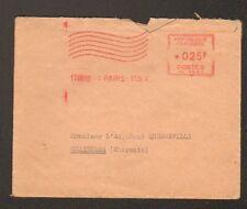 PARIS (VIII°) AUTOMOBILE CLUB DES OFFICIERS Oblitération Mécanique Postale rouge
