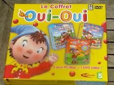 Le COFFRET OUI OUI : 2 jeux PC MAC + 1 DVD Vidéo - NEUF / VF